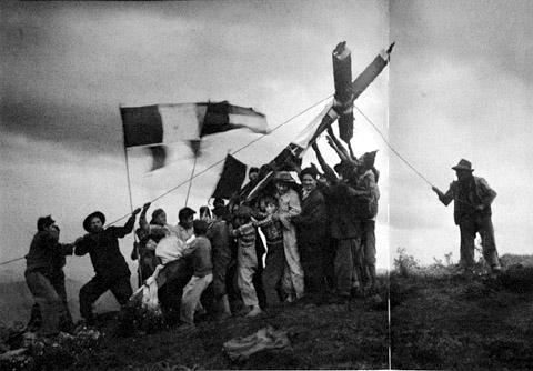Martín Chambi Fiesta de la Cruz